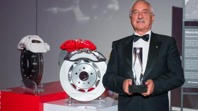 Brembo's Alberto Bombassei Inducted into Automotive Hall of Fame
